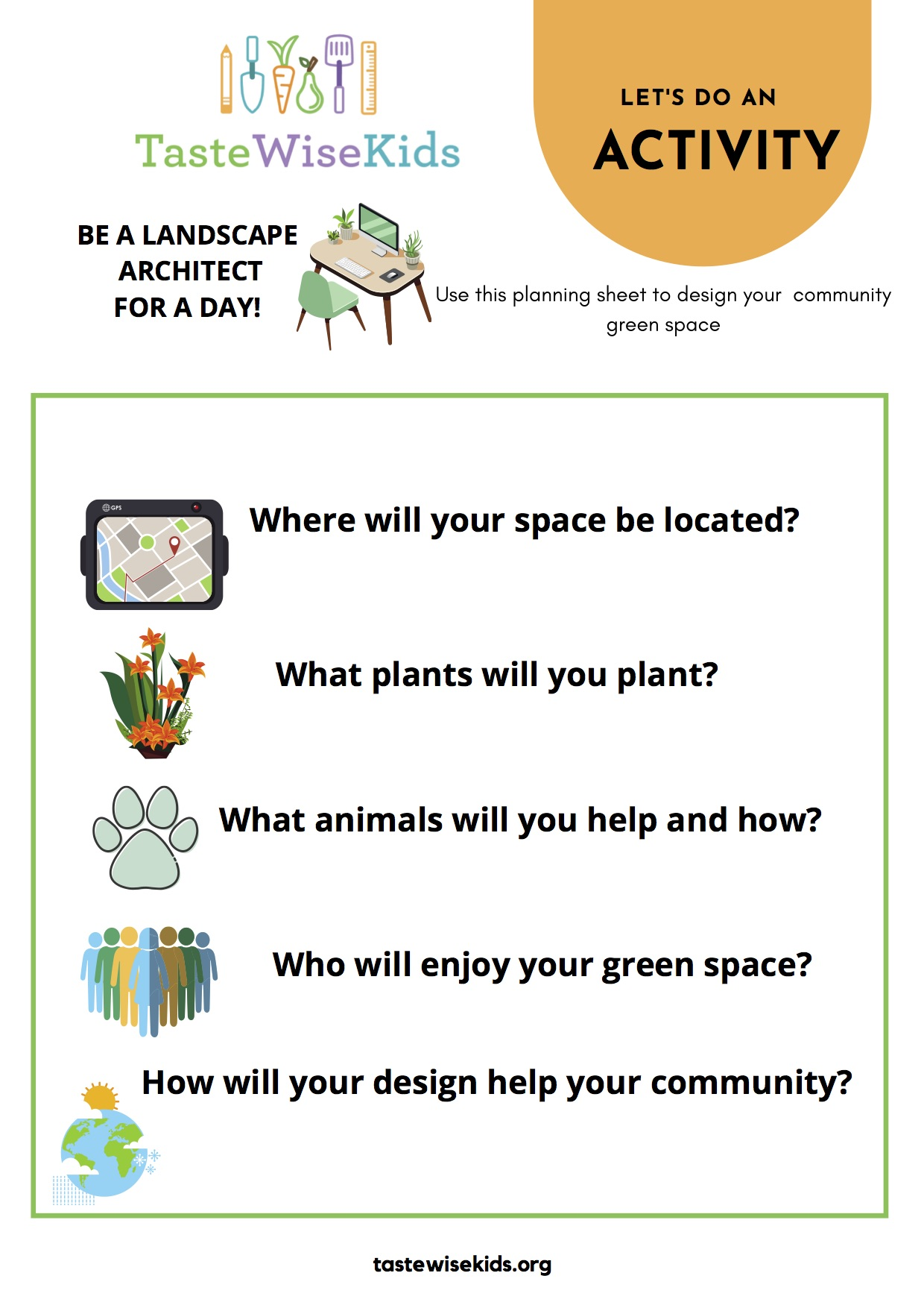 Design a Community Green Space