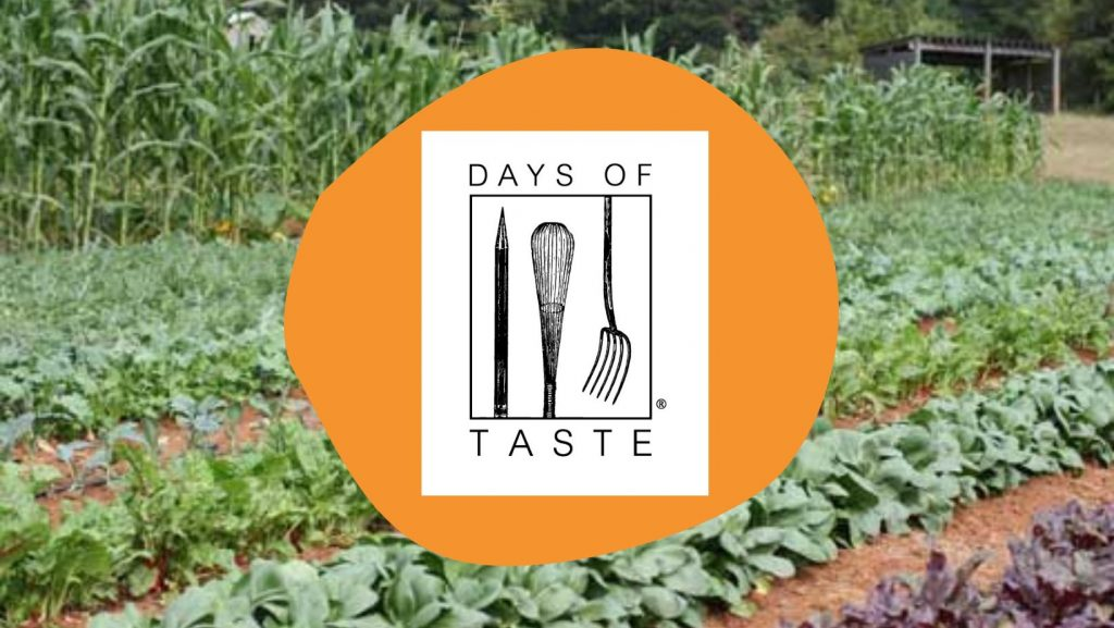 Days of Taste logo with farm