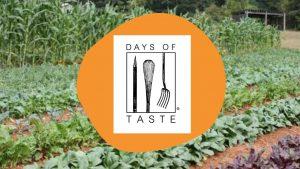 Days of Taste logo with farm