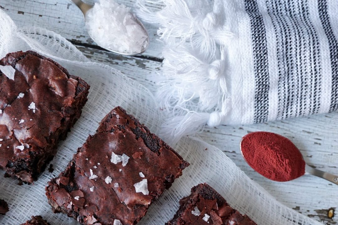 Heart Beet Valentine's Day Homemade Brownie Recipe 5
