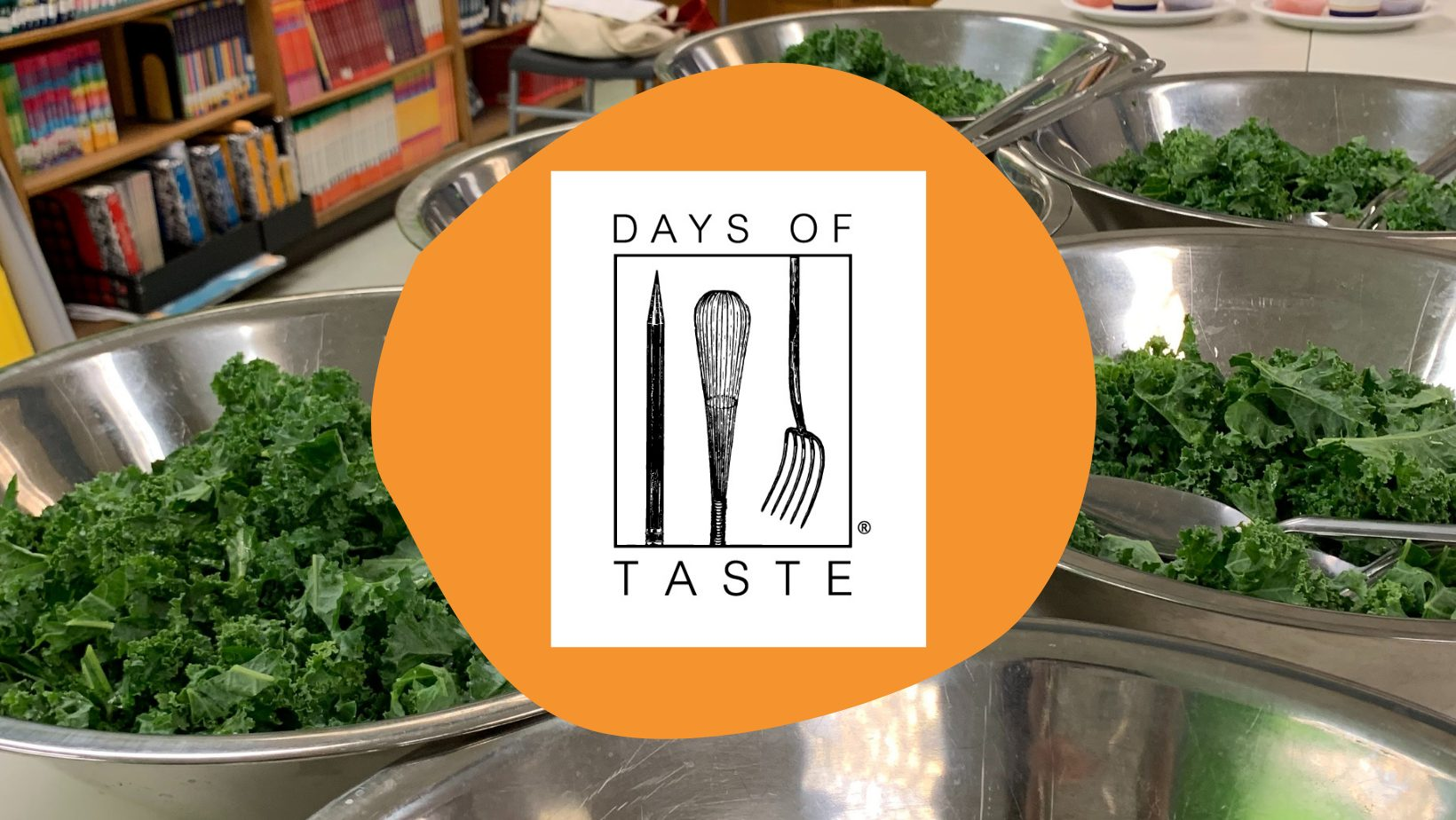 Days of Taste logo and salad
