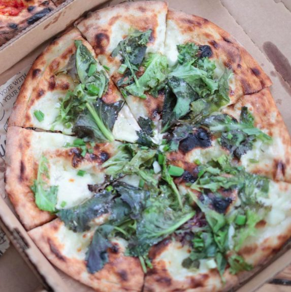 Pizza from Well Crafted Kitchen, TWK event partner